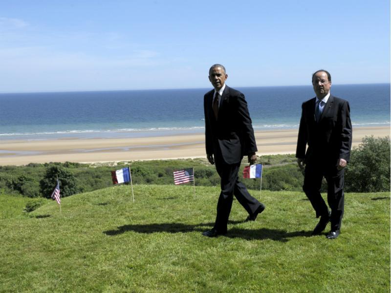 70º aniversário do desembarque dos Aliados na Normandia junta figuras mundiais (Reuters)