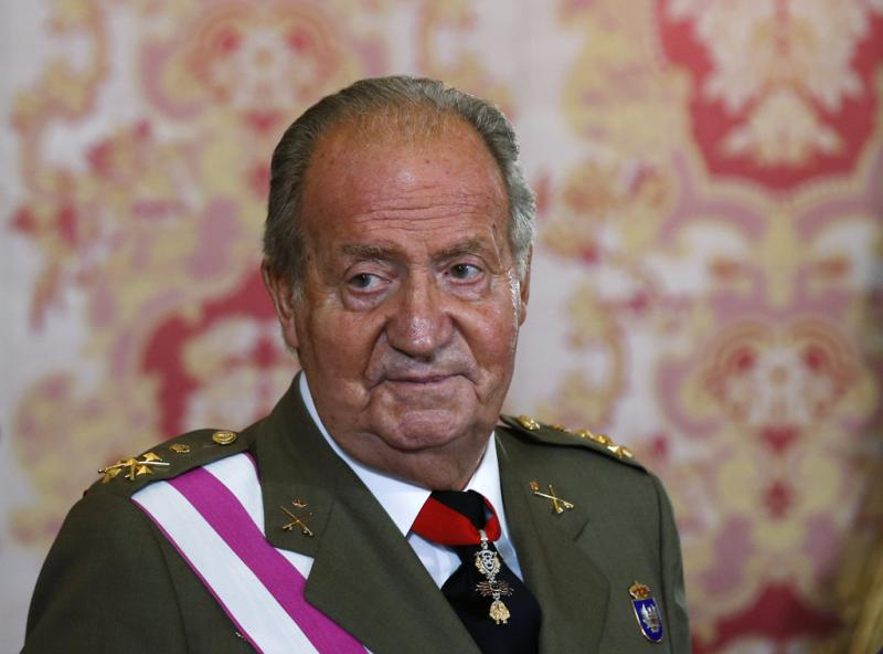 Rei Juan Carlos - Rei Juan Carlos no Dia das Forças Armadas REUTERS