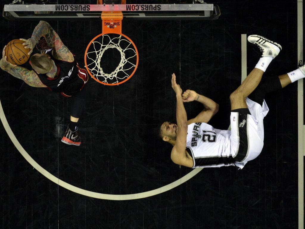 Heat vs Spurs (Reuters)