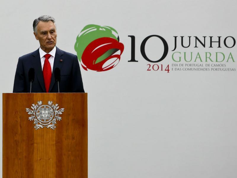 Cavaco Silva durante discurso do 10 de Junho (Lusa/Paulo Novais)