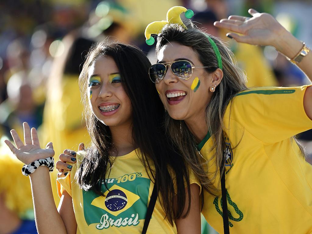 Cerimónia de abertura do Mundial 2014