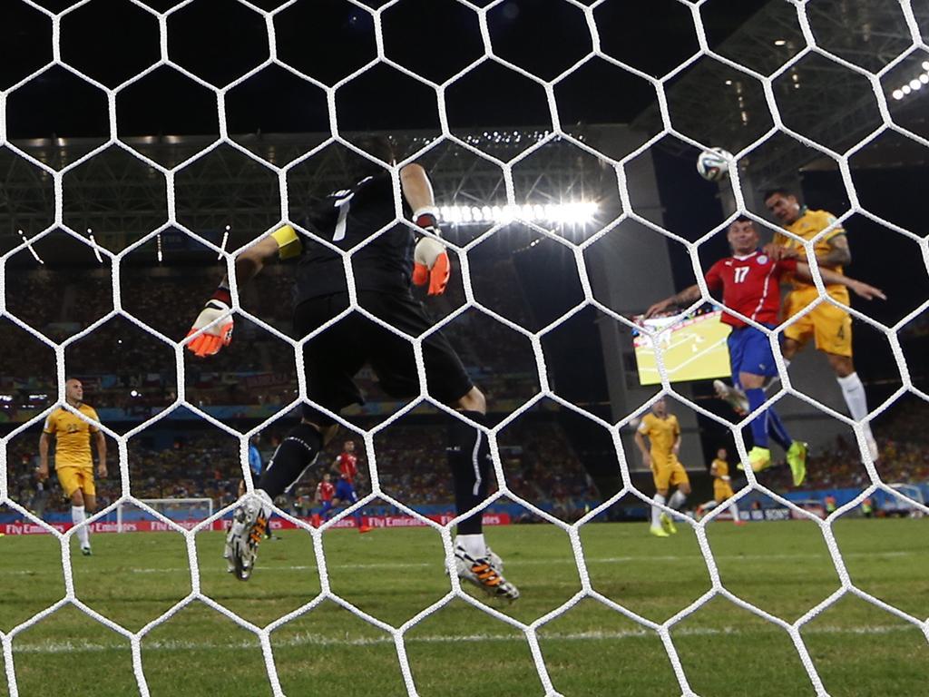 Chile vs. Austrália (Reuters)