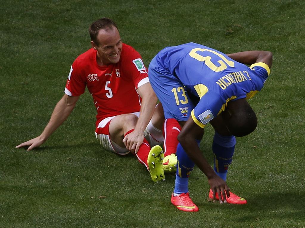 Suíça vs. Equador (Reuters)