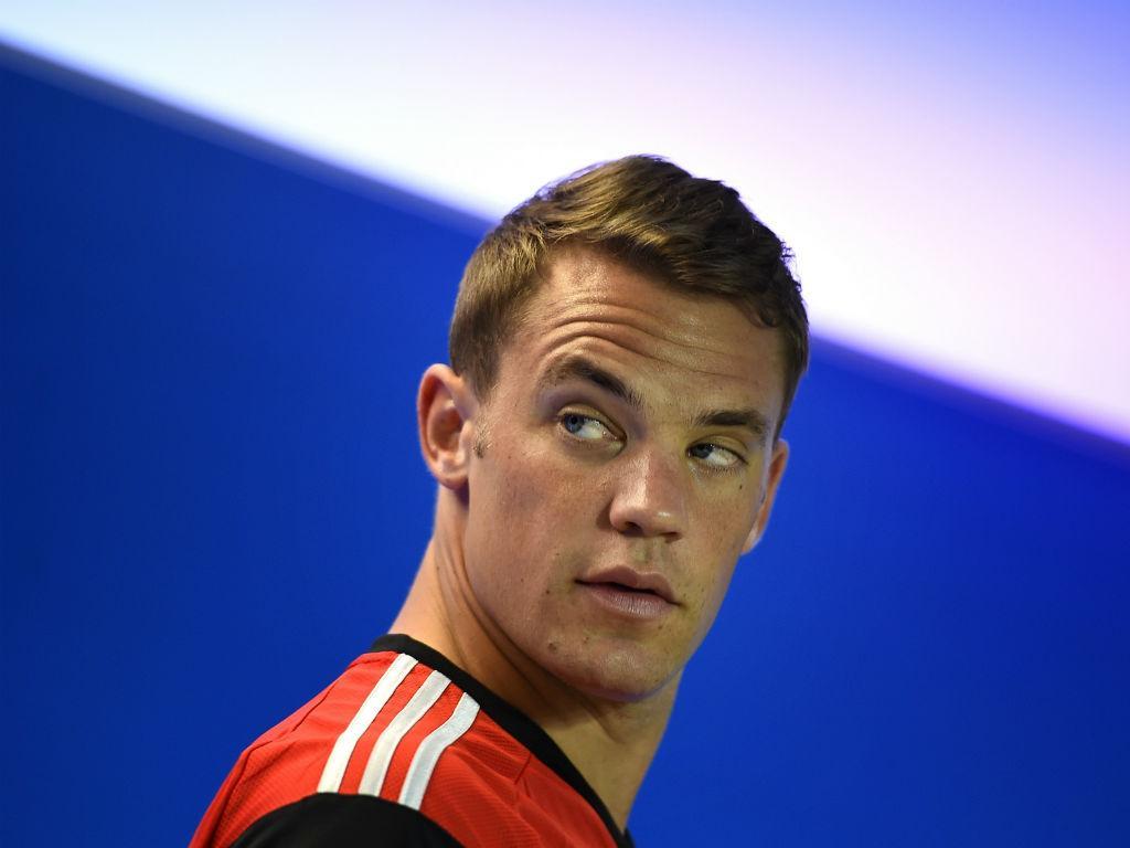 Conferência de imprensa de Manuel Neuer (Reuters)