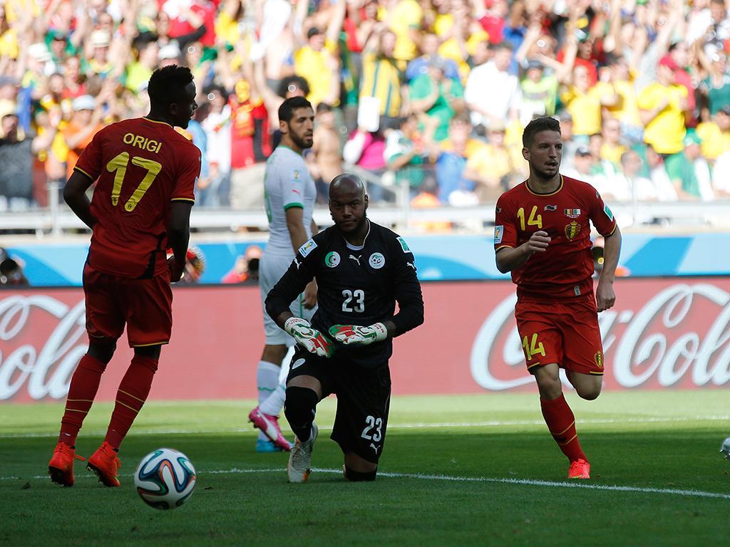 Bélgica vs Argélia (REUTERS)