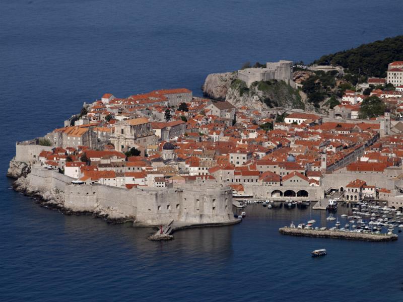 Muralhas da Cidade Antiga, Dubrovnik, Croácia [Reuters]