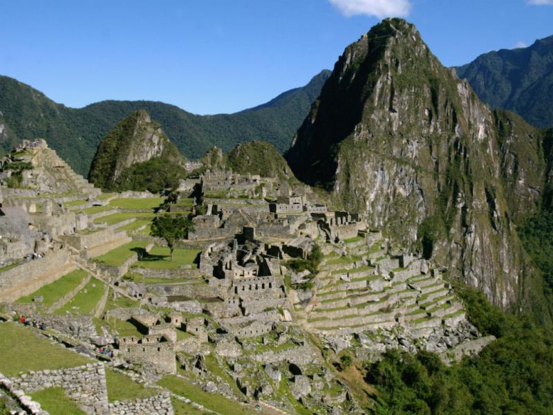 Machu Picchu [Reuters]