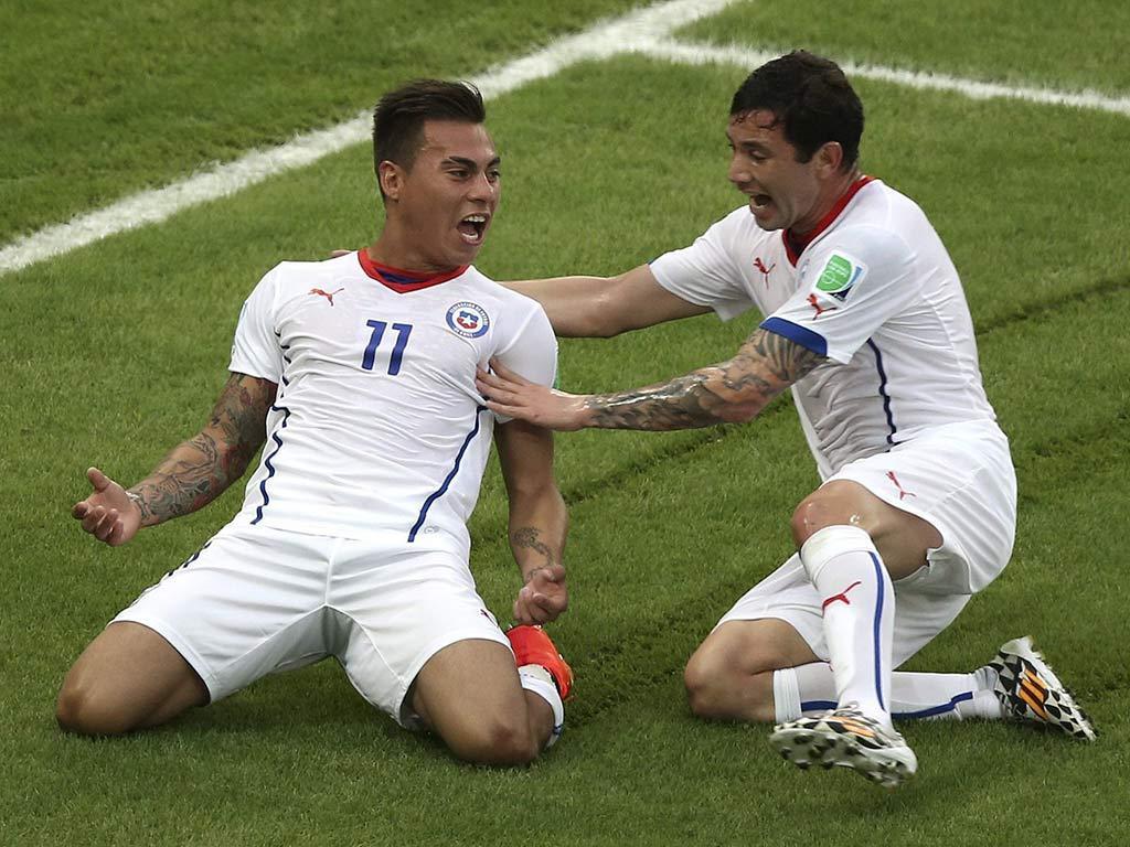 Espanha VS Chile (LUSA)