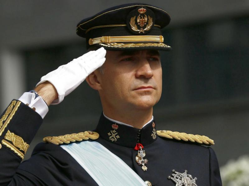 Coroação de Felipe VI de Espanha (EPA/LUSA)