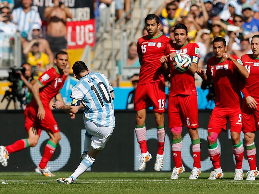 Argentina vs Irão (REUTERS)