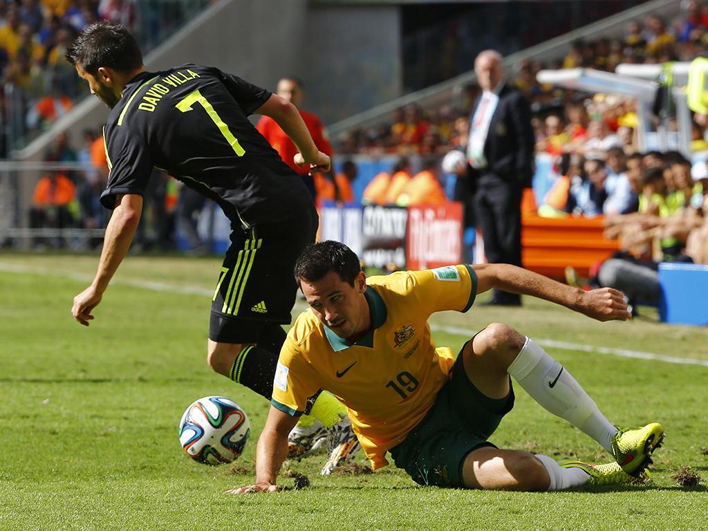 Austrália vs. Espanha (Reuters)