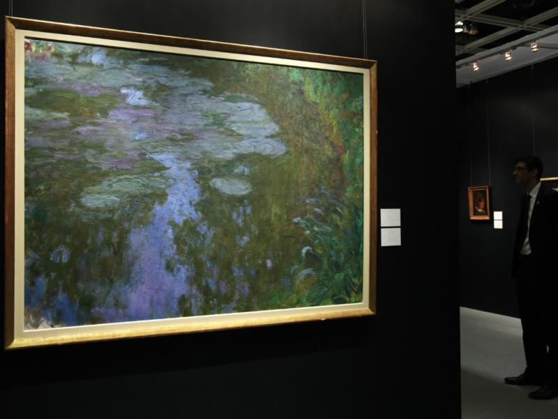 Nympheas, de Claude Monet (Reuters)