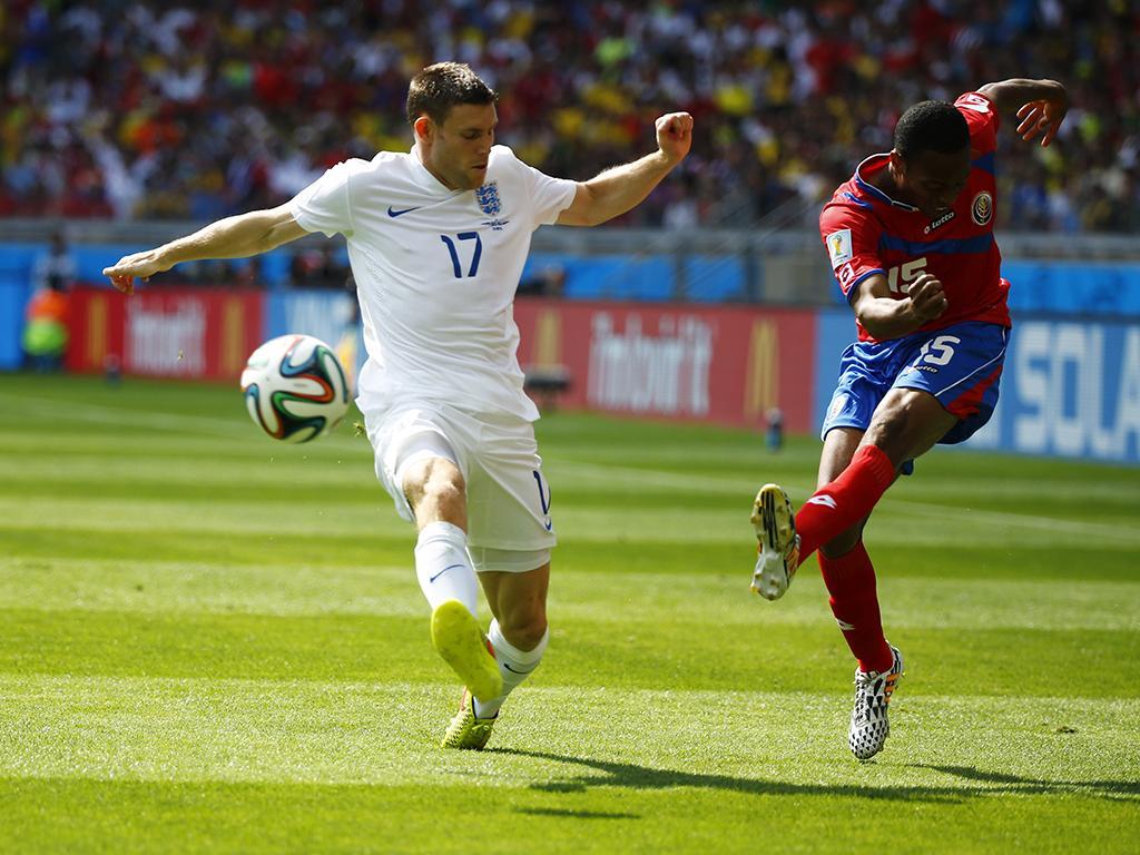 Costa Rica vs. Inglaterra (Reuters)