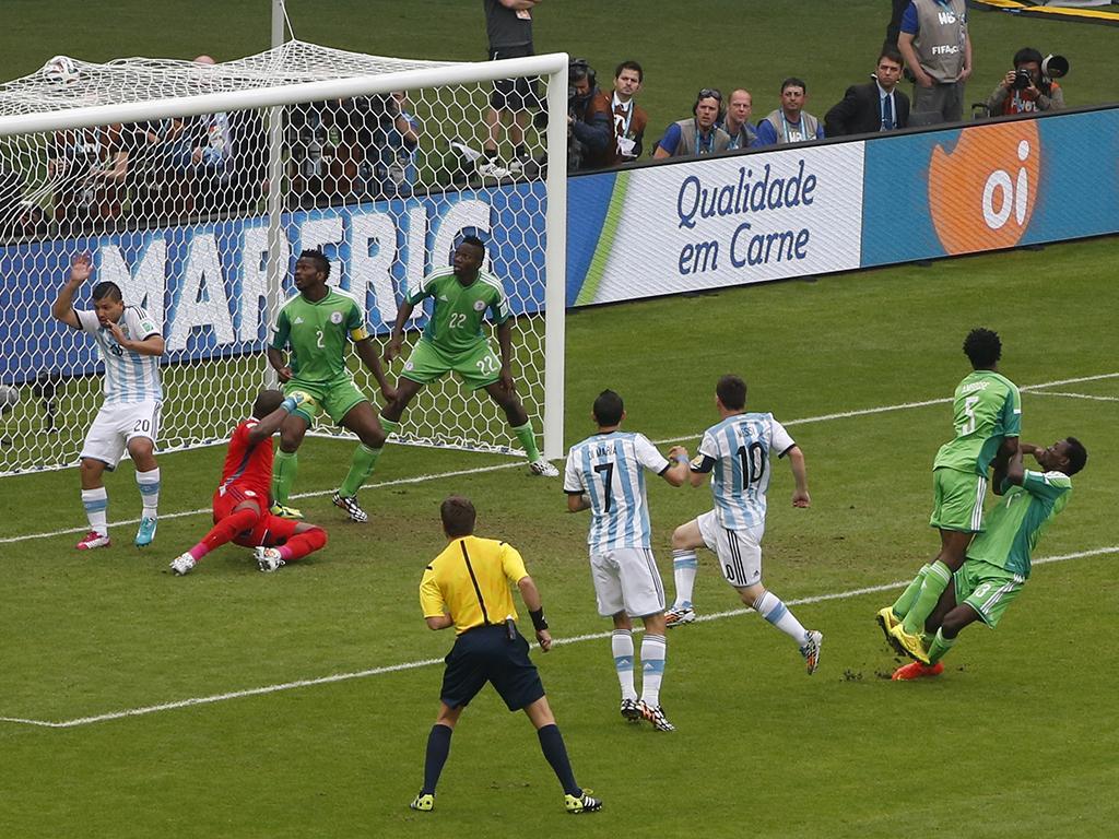 Nigéria vs. Argentina (Reuters)