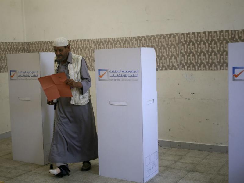 Benghazi, Libya: eleições legislativas (REUTERS/ Esam Omran Al-Fetori)