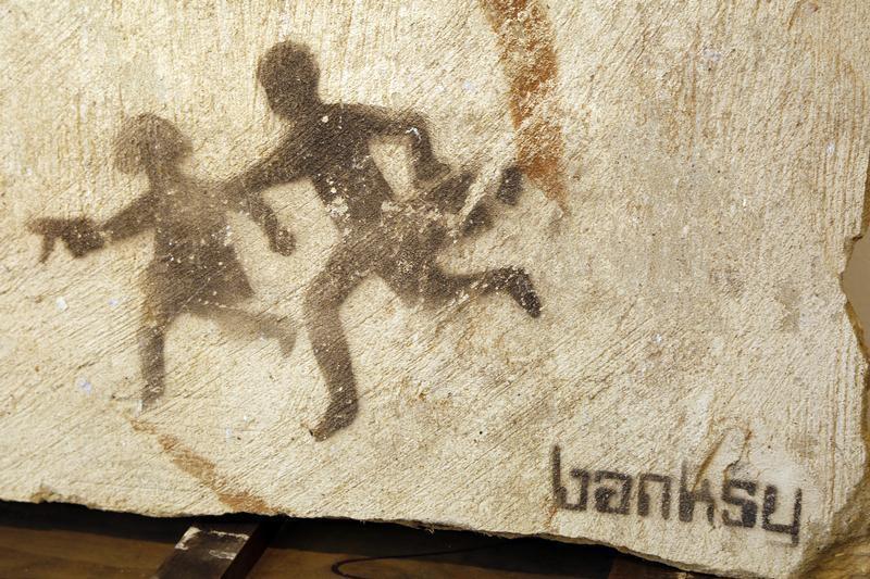 A identidade do artista Banksy permanece desconhecida