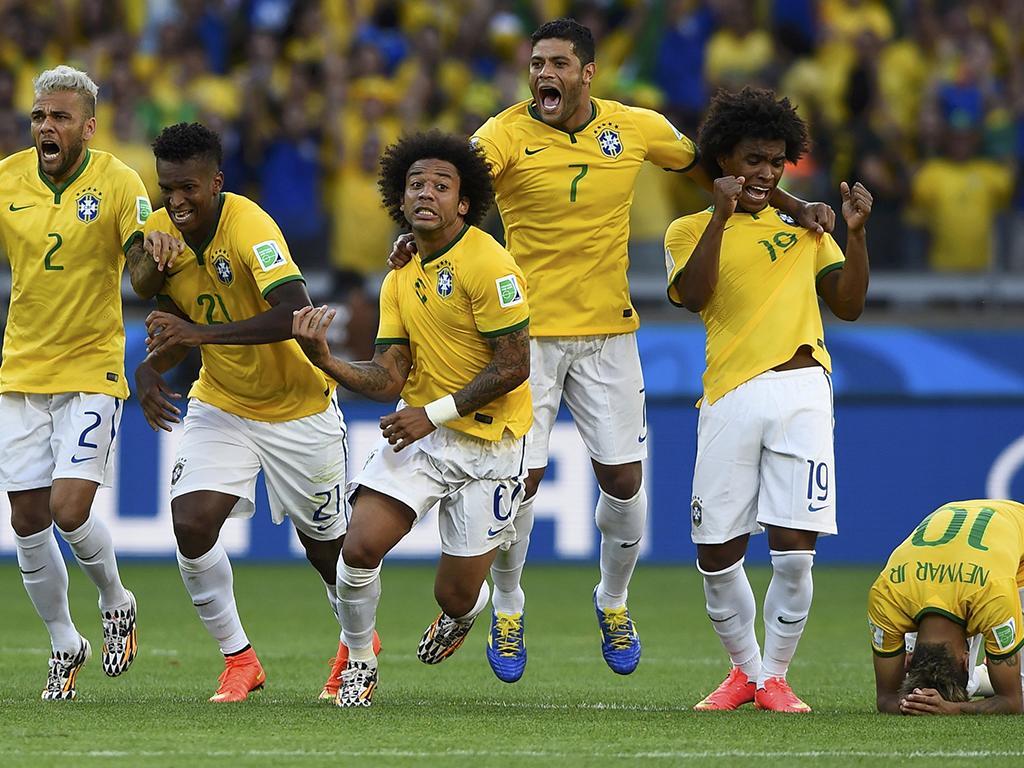 Brasil vs Chile (Reuters)