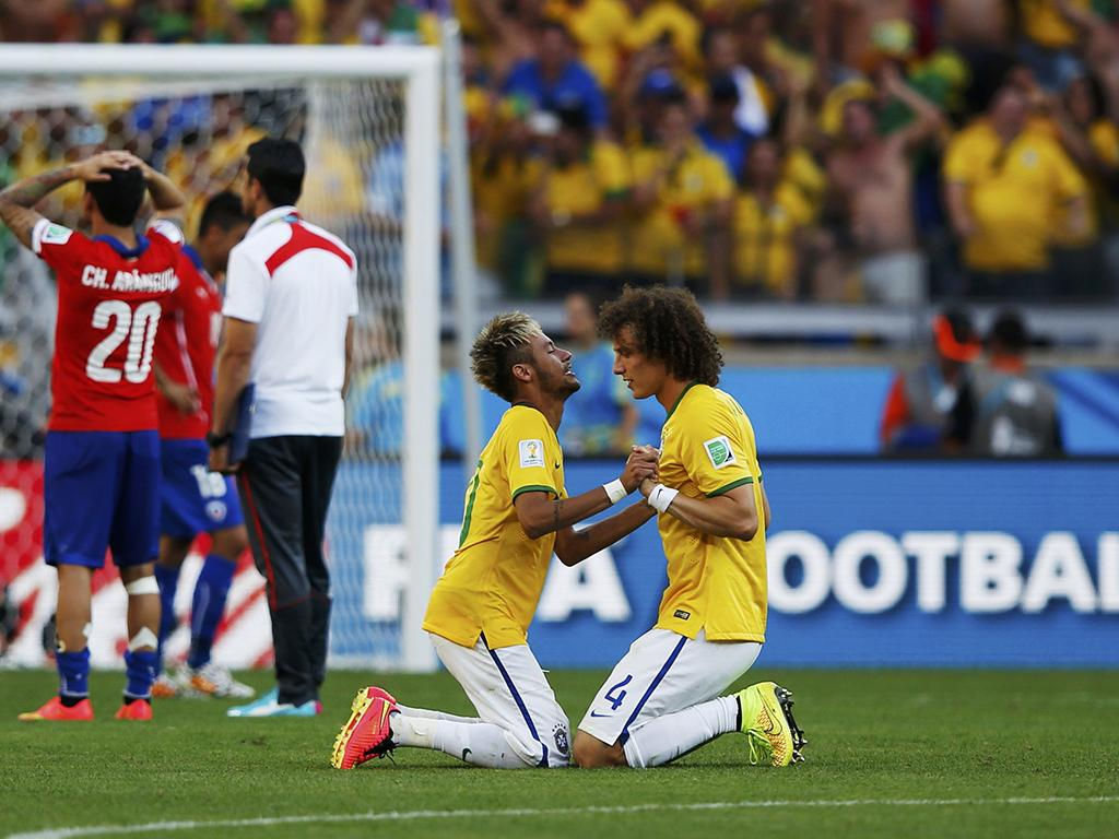 Brasil vs Chile (Reuters)