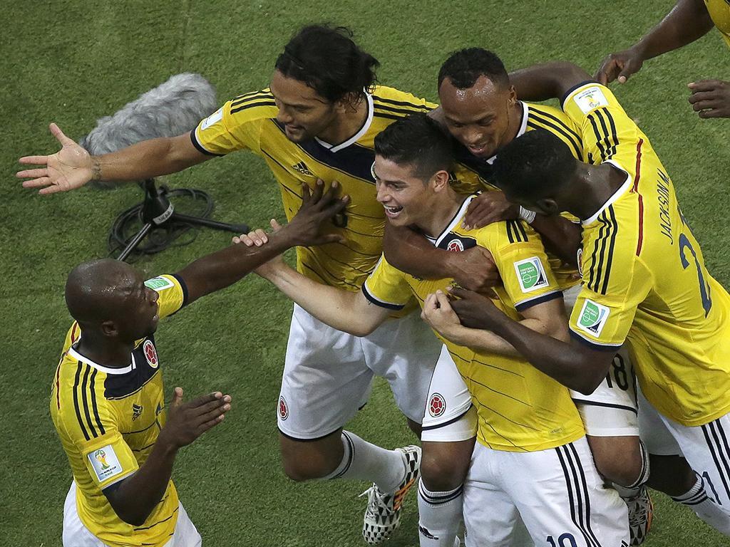 Colômbia vs Uruguai (Reuters)