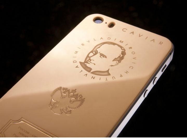 iPhone com «rosto» de Putin custa três mil euros