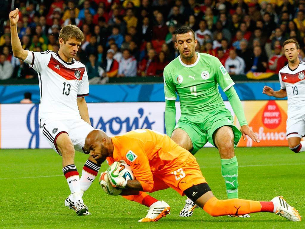 Alemanha VS Argélia (Reuters)