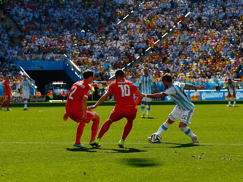 Argentina VS Suíça (Reuters)