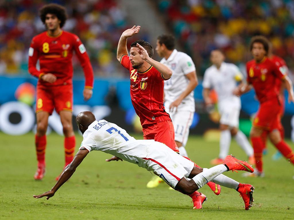 Bélgica VS E.U.A (Reuters)