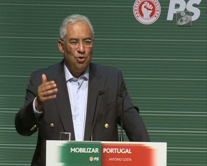 António Costa diz que PS não pode ser o partido do «pisca pisca»