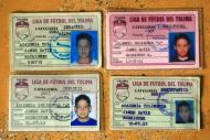 Os cartões de James na Liga de Futebol de Tolima