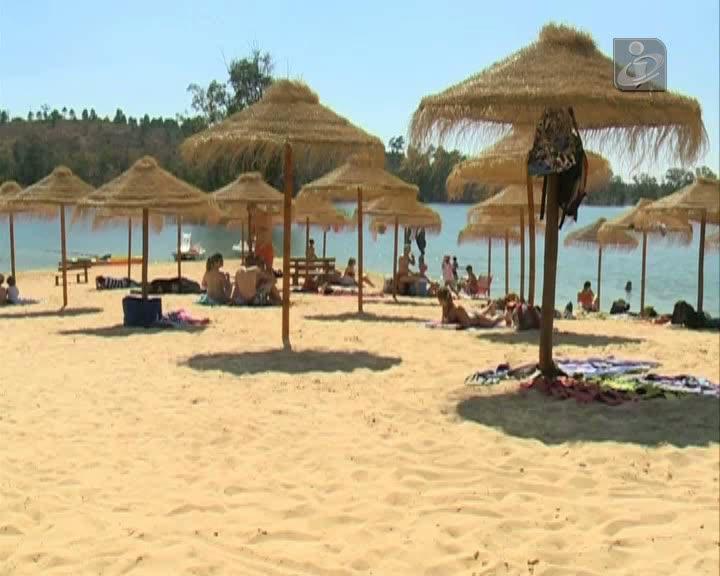 Praia de Mértola é um «oásis» em pleno Alentejo