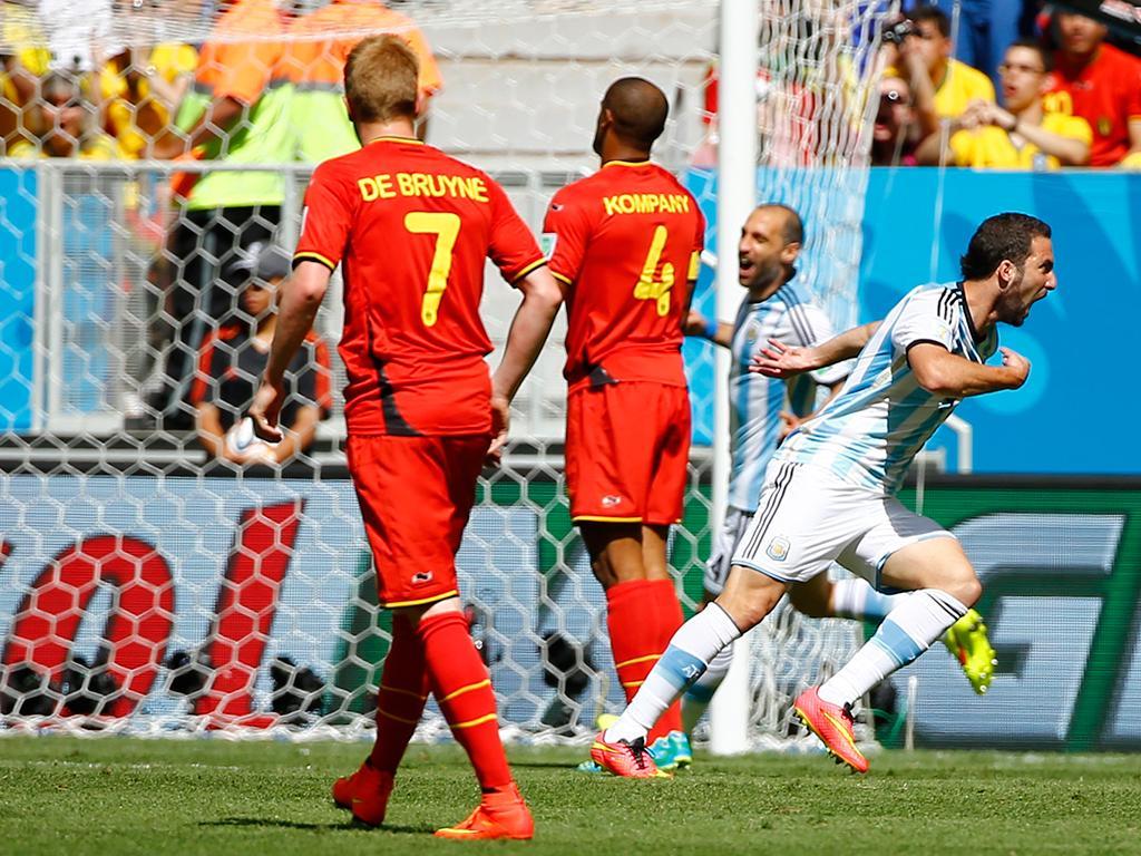 Argentina VS Bélgica (Reuters)