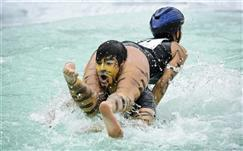 Wife carrying (Foto: AP images)