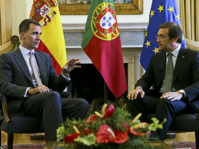 Visita dos reis de Espanha [LUSA]