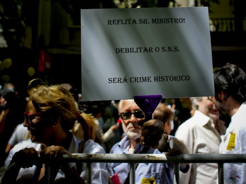 Greve dos Médicos em Lisboa [Lusa]