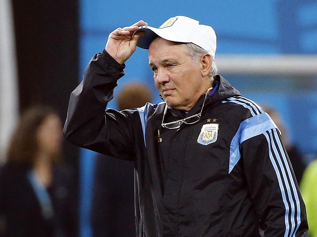 Mundial 2014: Treino da Argentina (REUTERS)