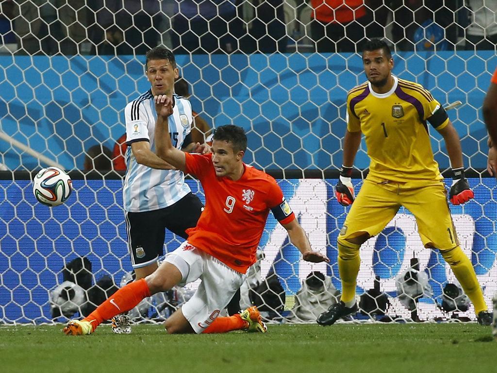 Holanda Vs. Argentina (Reuters)