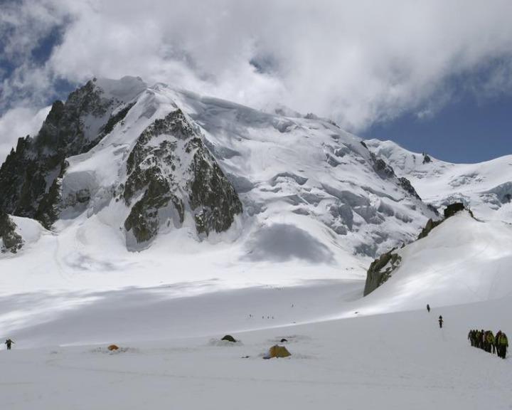 Corpo foi descoberto no Monte Branco, nos alpes franceses (Reuters)