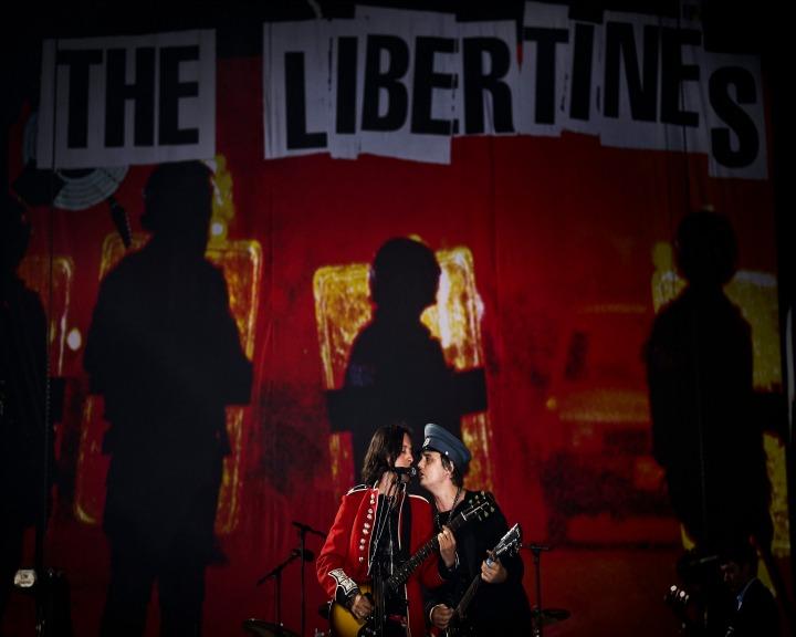 Os britânicos que se separaram há 10 anos encerraram o palco principal do Alive (Lusa)