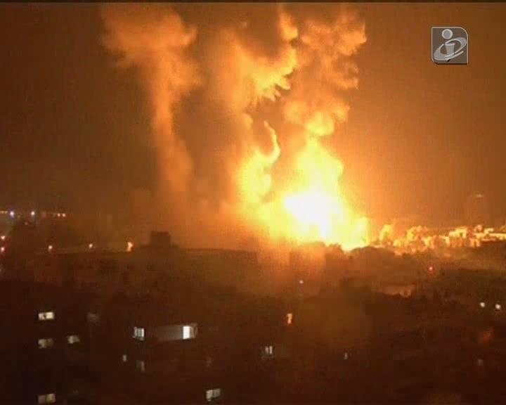 Começa a operação terrestre israelita na Faixa de Gaza
