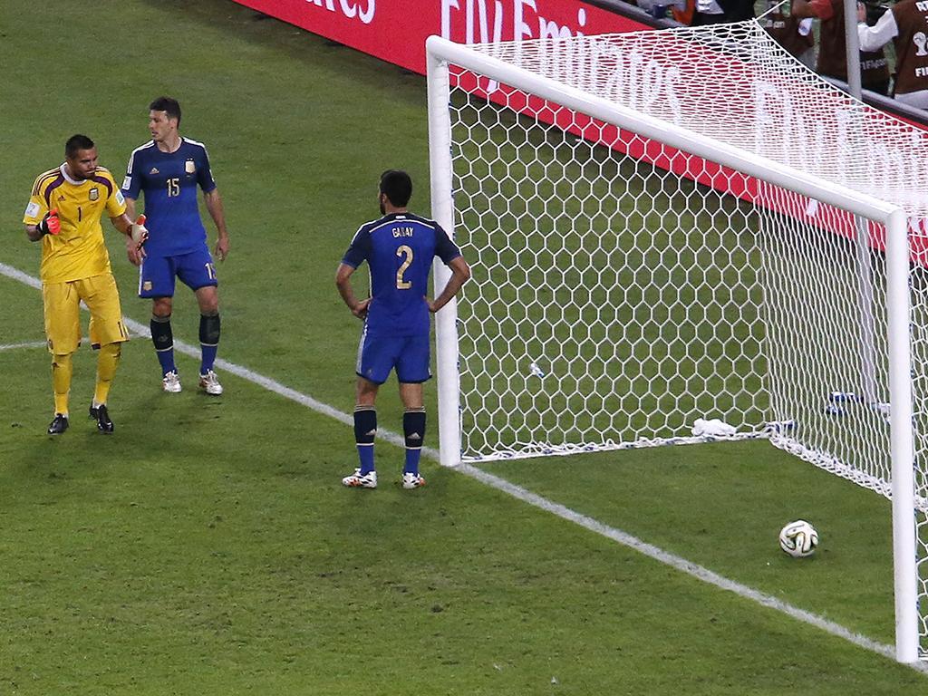 Alemanha vs. Argentina (Reuters)