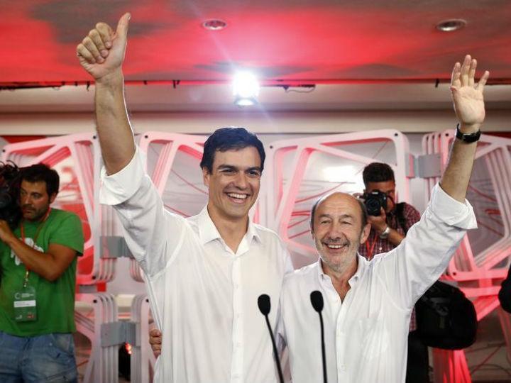 Pedro Sanchez vence eleições no PSOE [Reuters]