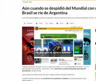 Lance, edição online (Brasil)