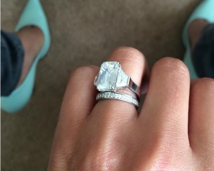 Cheryl Cole casou-se no início do mês com o francês  Jean-Bernard Fernandez-Versini (Fotografia: CheryCole.com)