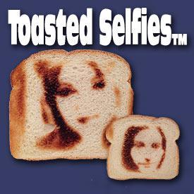 Torradeira consegue imprimir selfie nas torradas