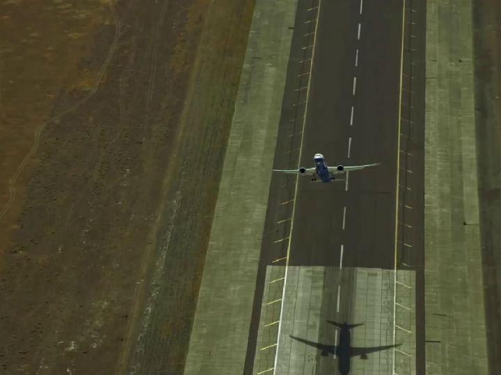 Este Boeing faz acrobacias inacreditáveis