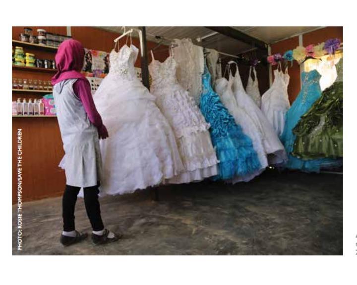 Meninas sírias são obrigadas a casar nos centros de refugiados da Jordânia (Savethechildren.org)
