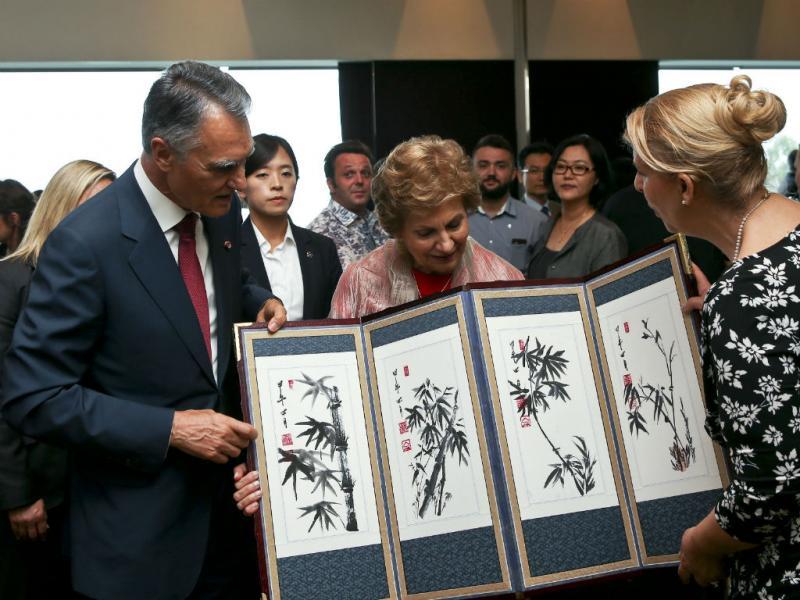 Cavaco Silva visita Coreia do Sul (PAULO NOVAIS/LUSA)