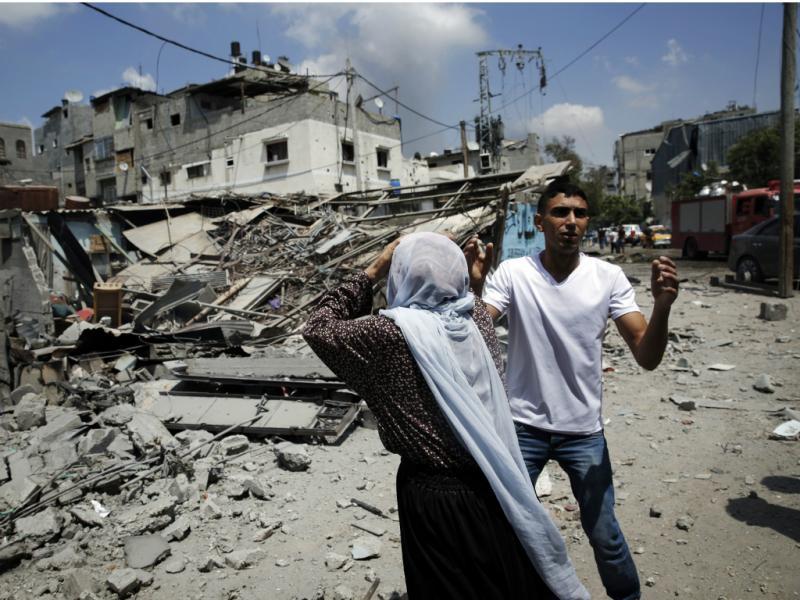 Gaza: as imagens do conflito [Reuters]