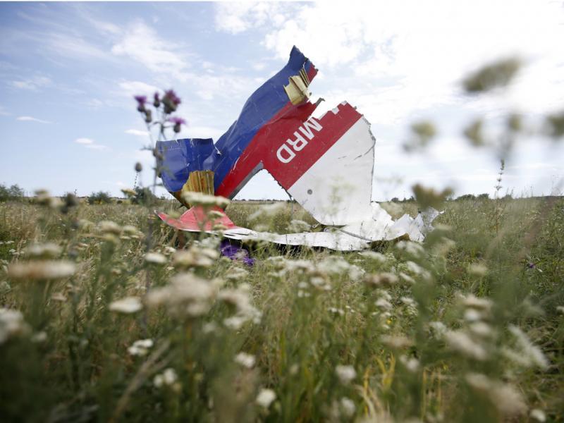 Destroços do voo MH17 [Reuters]