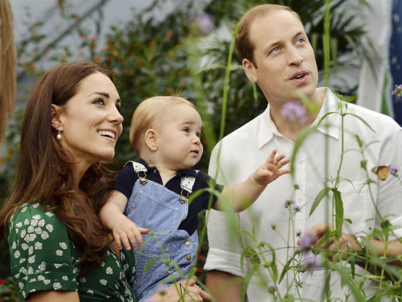 Príncipe George faz um ano (REUTERS)